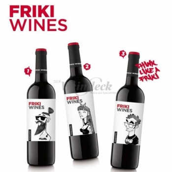 Friki Wines, Tempranillo  13,5% 75cl