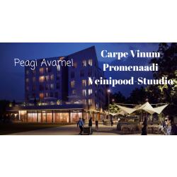 UUS! Veinipood-Stuudio Carpe Vinum Promenaadi!