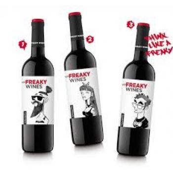 Kast (6 pudelit) FreakyWine