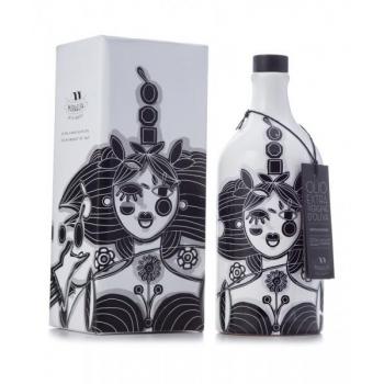 Pierpaolo Gaballo Limited Edition Kuninganna käsitsi maalitud pudelis on keskmise puuviljasusega ekstra neitsioliivõli