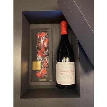 Kinkekarp punase veini ja shokolaadiga