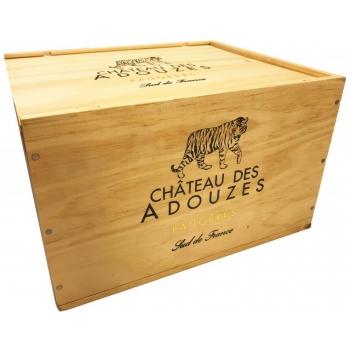 Château des Adouzes Frère et Soeur  puidust kast ( ilma veinita)