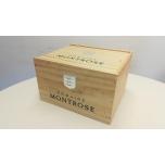Domaine Montrose  La Balade Rouge 6 pudelit puidust kastis